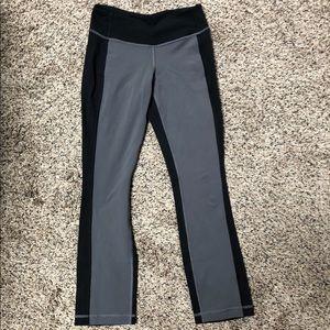 Lululemon grey and black pants